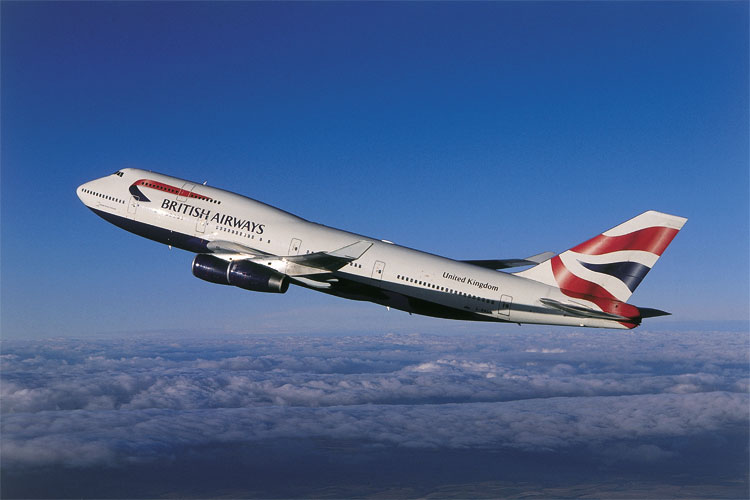 Бойнг 747. Източник www.britishairways.com