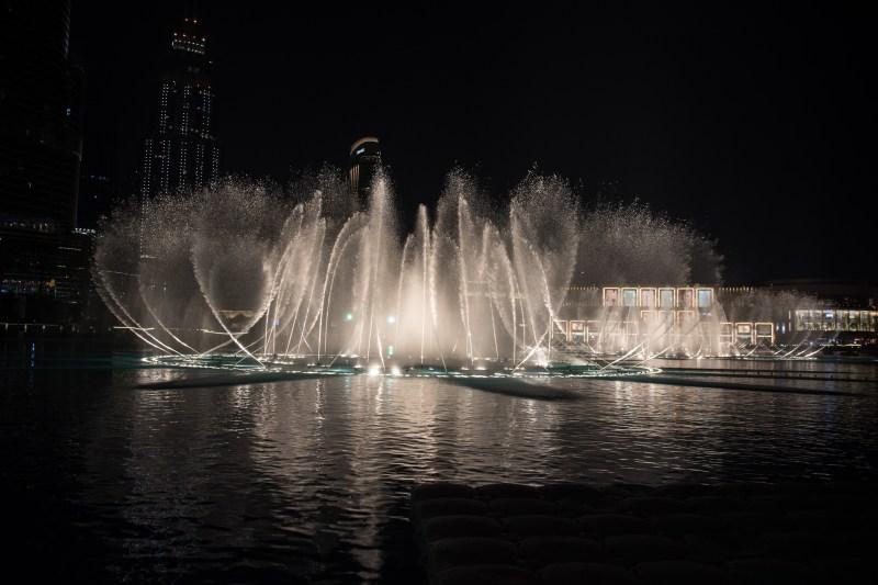 Фонтанът в Дубай
