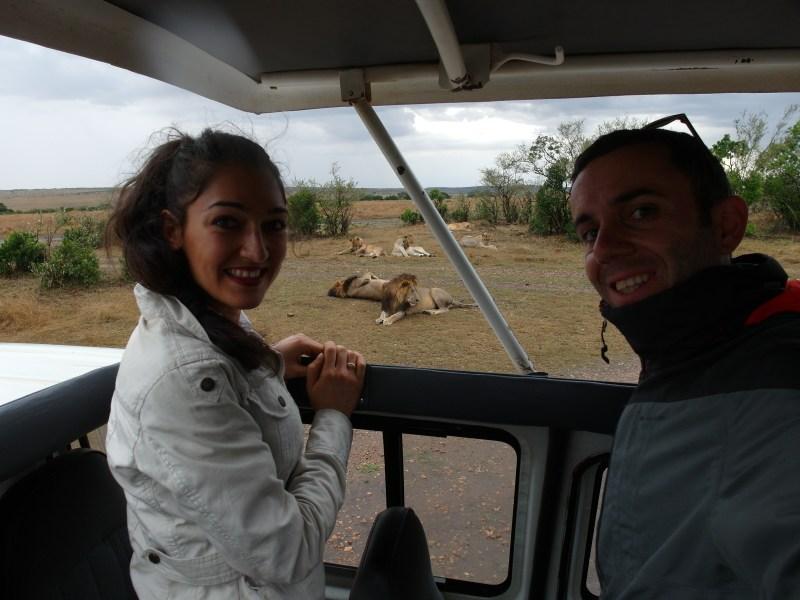 Близки срещи с лъвовете в Масай Мара, Кения