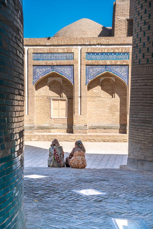 Входа на стария град на Хива, Узбекистан