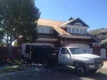 101 Roofing & Construction work truck shot
