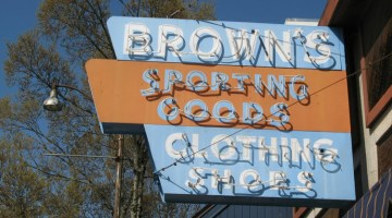 Brown's Sporting Goods, Garberville