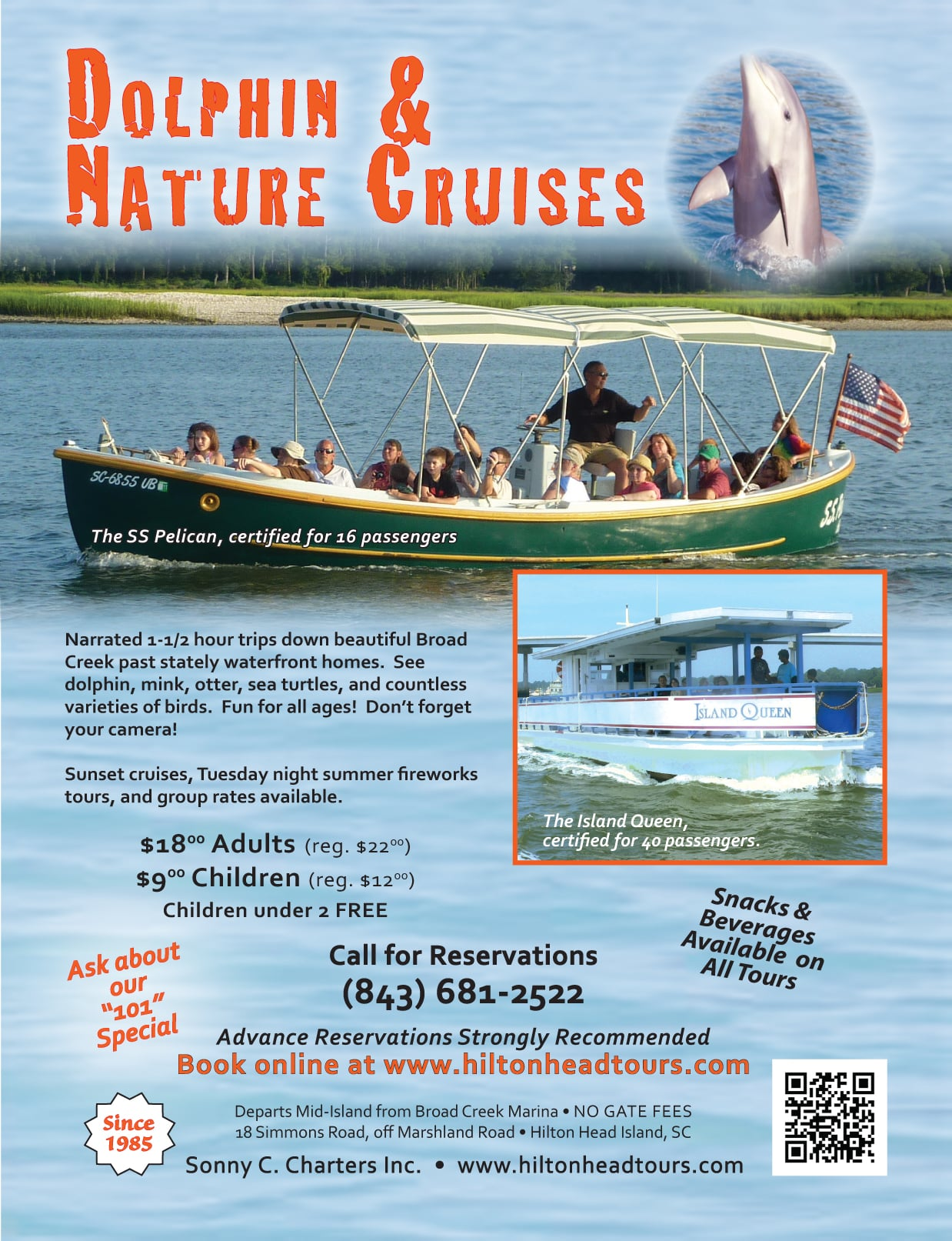 See Dolphins And Nature Up Close