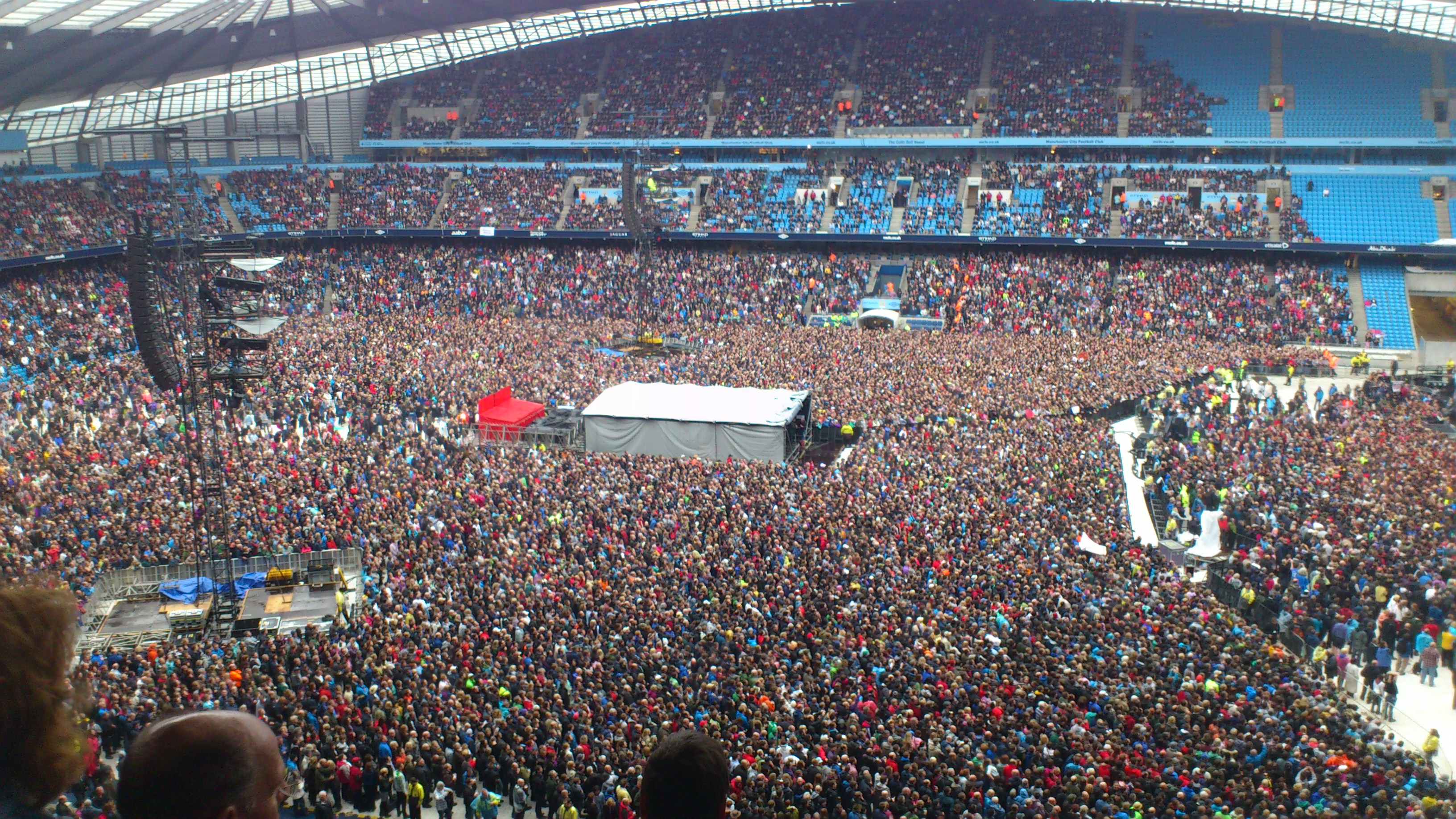 Our First Springsteen Gig…!