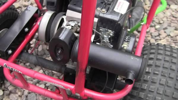 Homemade Kart Muffler - Year of Clean Water