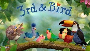 BBC 兒童英語動畫片:三只小鳥-3rd and Bird 第1-2季 50集