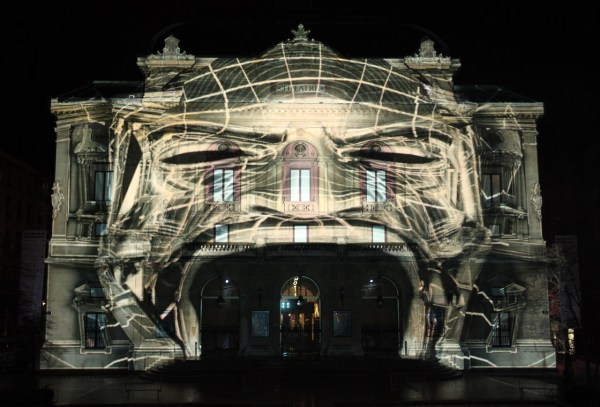 3D Building Projection Mapping