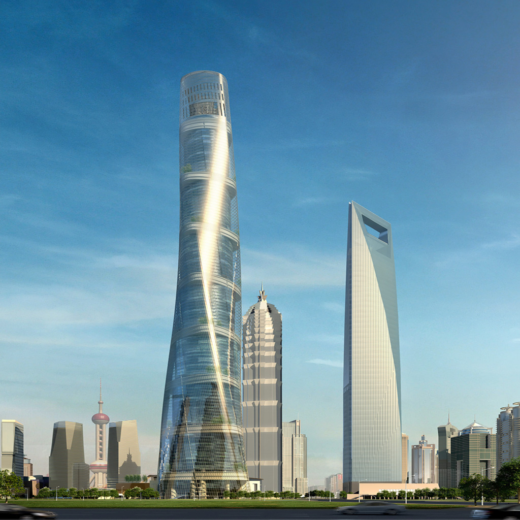 3d Nature Wallpapers Free Download For Pc 3d Abstract Shanghai Tower Wfc Model Ipad Iphone Hd