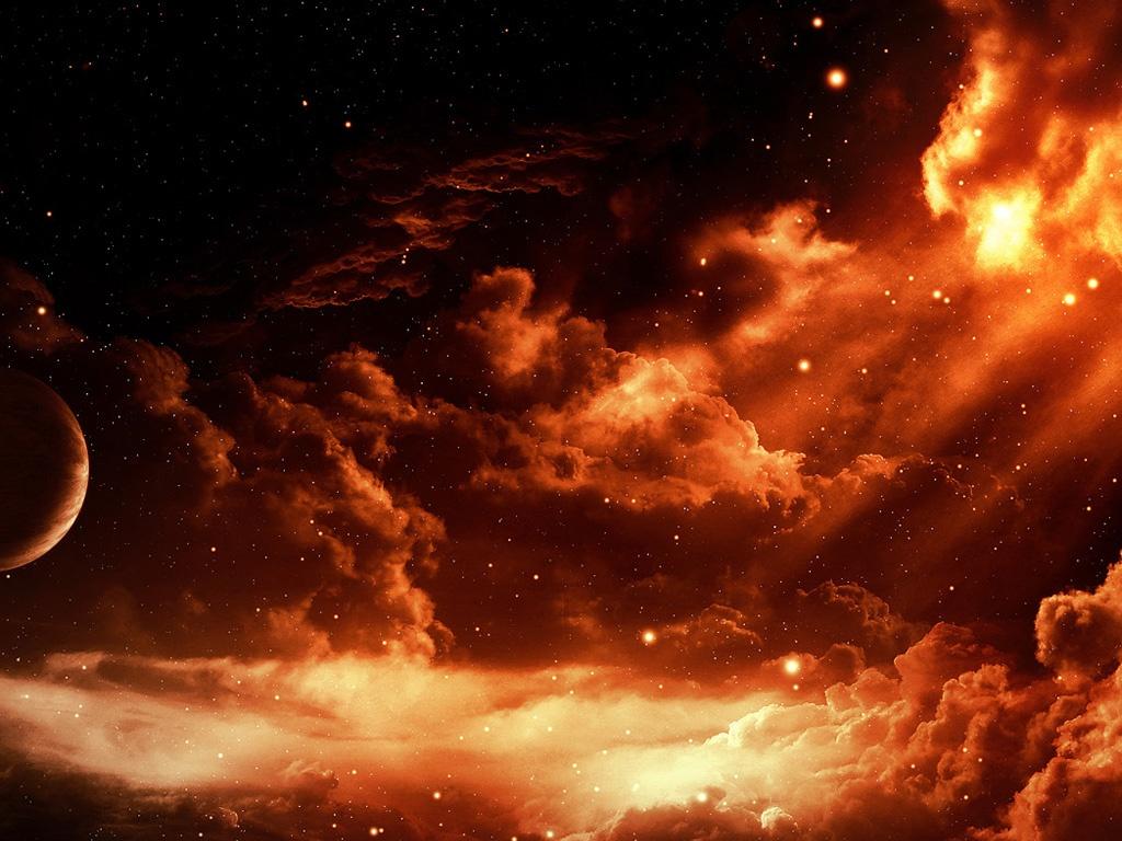 Gothic Girl Wallpaper Iphone Cg Fantasy Apocalypse Red Sky Ipad Iphone Hd Wallpaper