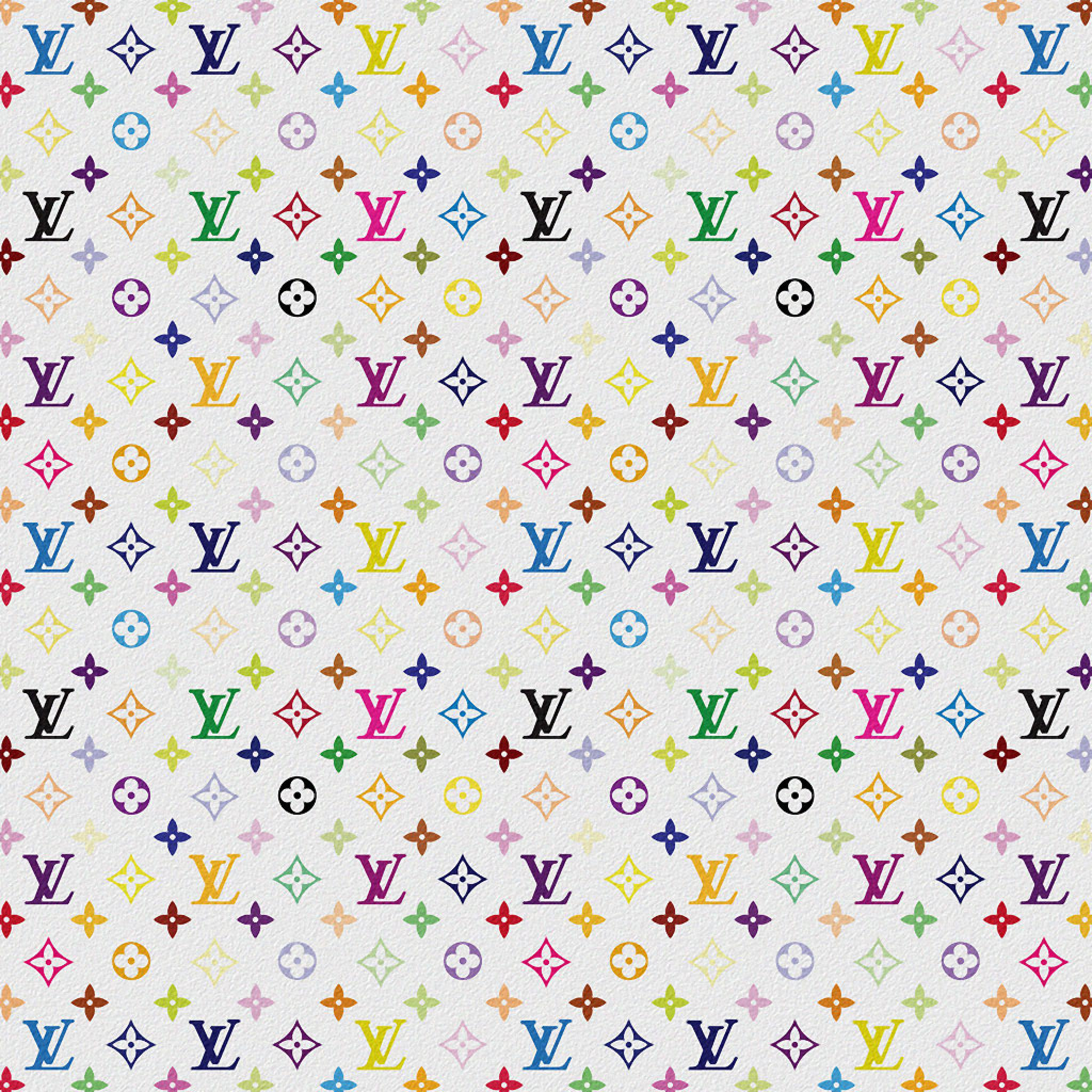 Monogram Iphone Wallpaper App Backgrounds Louis Vuitton Multicolor White Ipad Iphone