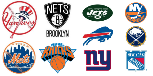 Image result for images new york sports teams