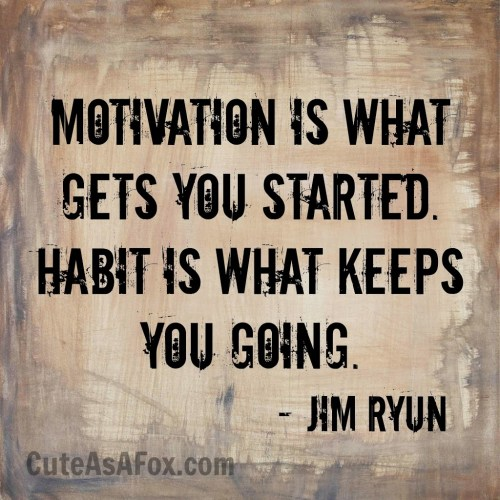 When Motivation Becomes a Habit