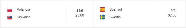 Grup E Piala Eropa 2021
