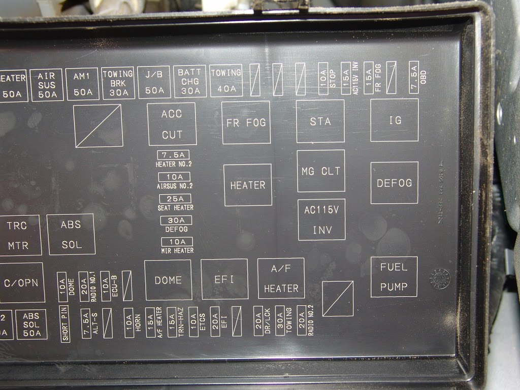 2003 Toyota 4runner Ac Stops Cooling on 2007 acura tl fuse box diagram