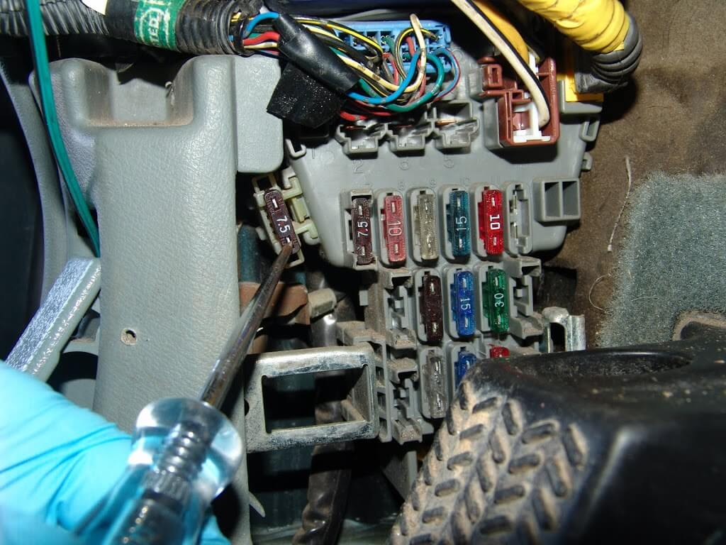 The customer had looked for the turn signal fuse and could not find it. It  is in the fuse box on the driver's kick panel.