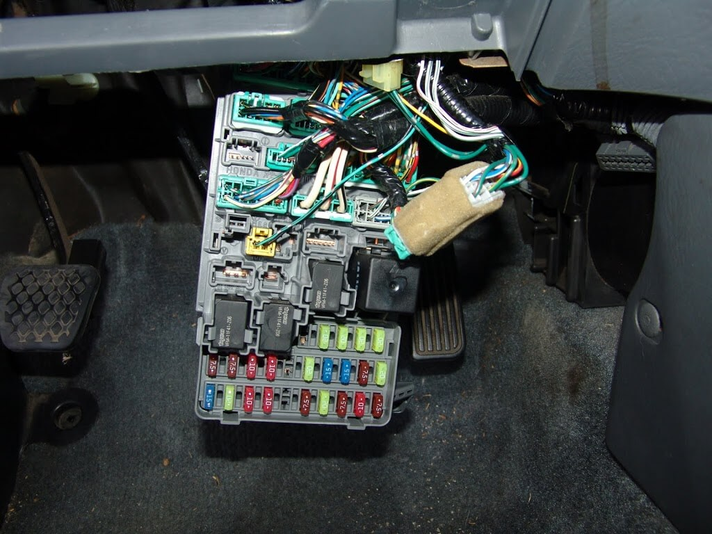 2001 Honda Civic Fuse Box For Sale Reinvent Your Wiring Diagram Odyssey Sparky S Answers 2002 A C And Door Locks Do Not Work Rh Sparkys Com 2003