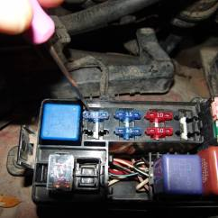 1994 Toyota Pickup Fuse Box Diagram Gm Alternator Wiring Internal Regulator Sparky 39s Answers Efi Fuseblows