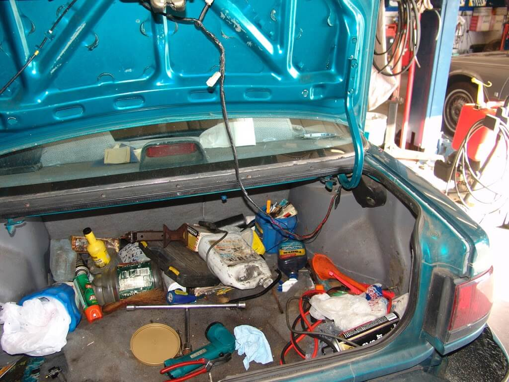 Sparkys Answers 1993 Ford Escort Transmission Will Not Shift Bmw Trunk Wiring Harness Opening The Found Answer I Do Think Motor Company Intended To Be Swinging Around Like This