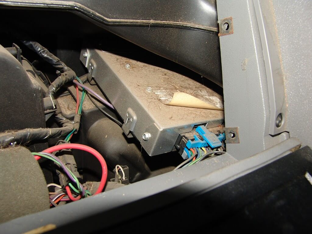 sparky s answers gmc pickup changing the blower motor in theory the pcm should just slide towards the center of the dash but i have never had much success that approach instead i use a large common