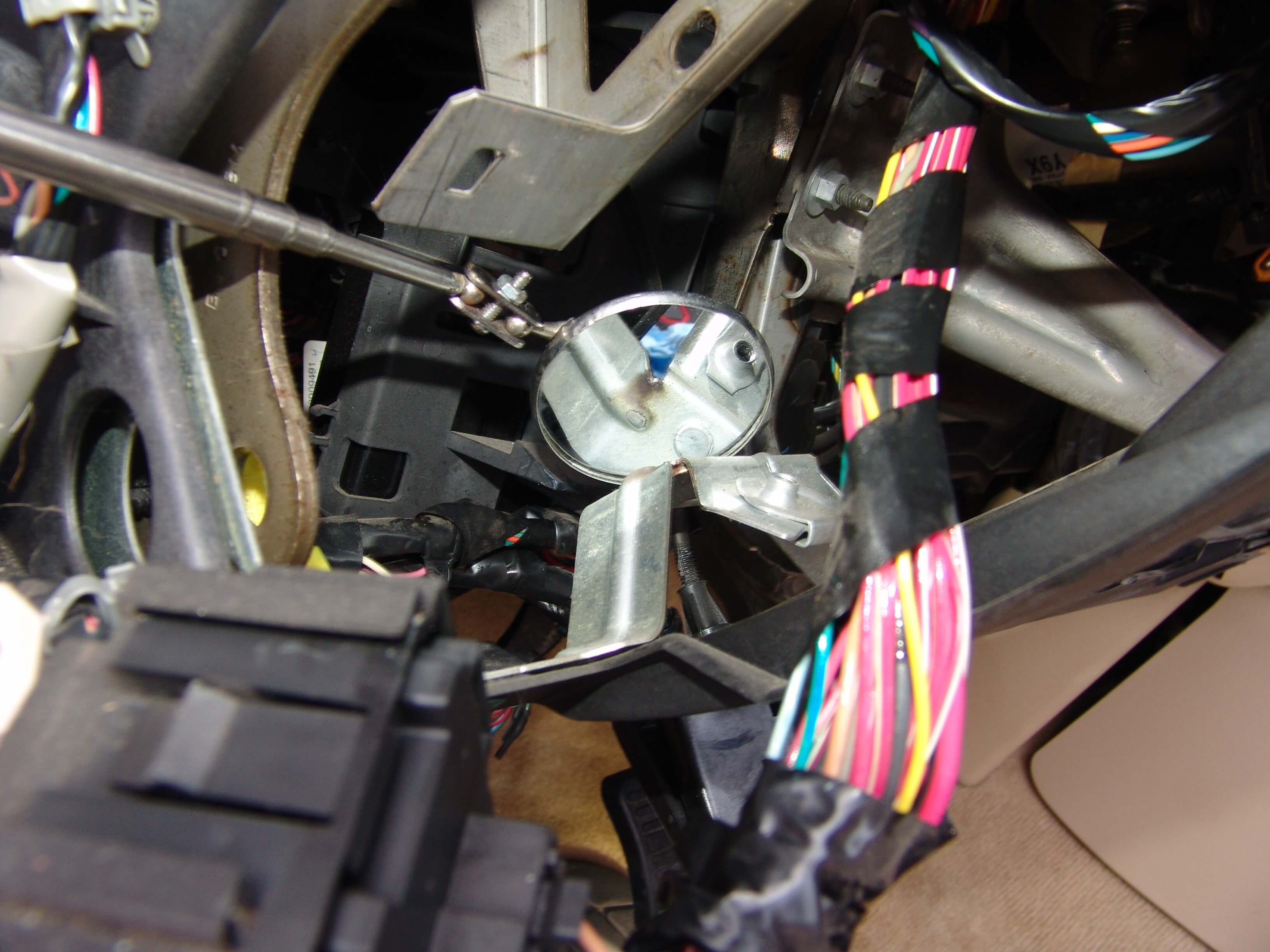 Sparkys Answers 2007 Chevrolet Tahoe Lt Lbec2 Fuse 75 Blows 2003 Gmc Yukon Denali Wiring Harness I Repaired The Damage To Wire Insulation By Wrapping It With Tape Then Reformed So That Would No Longer Rub On Any Brackets