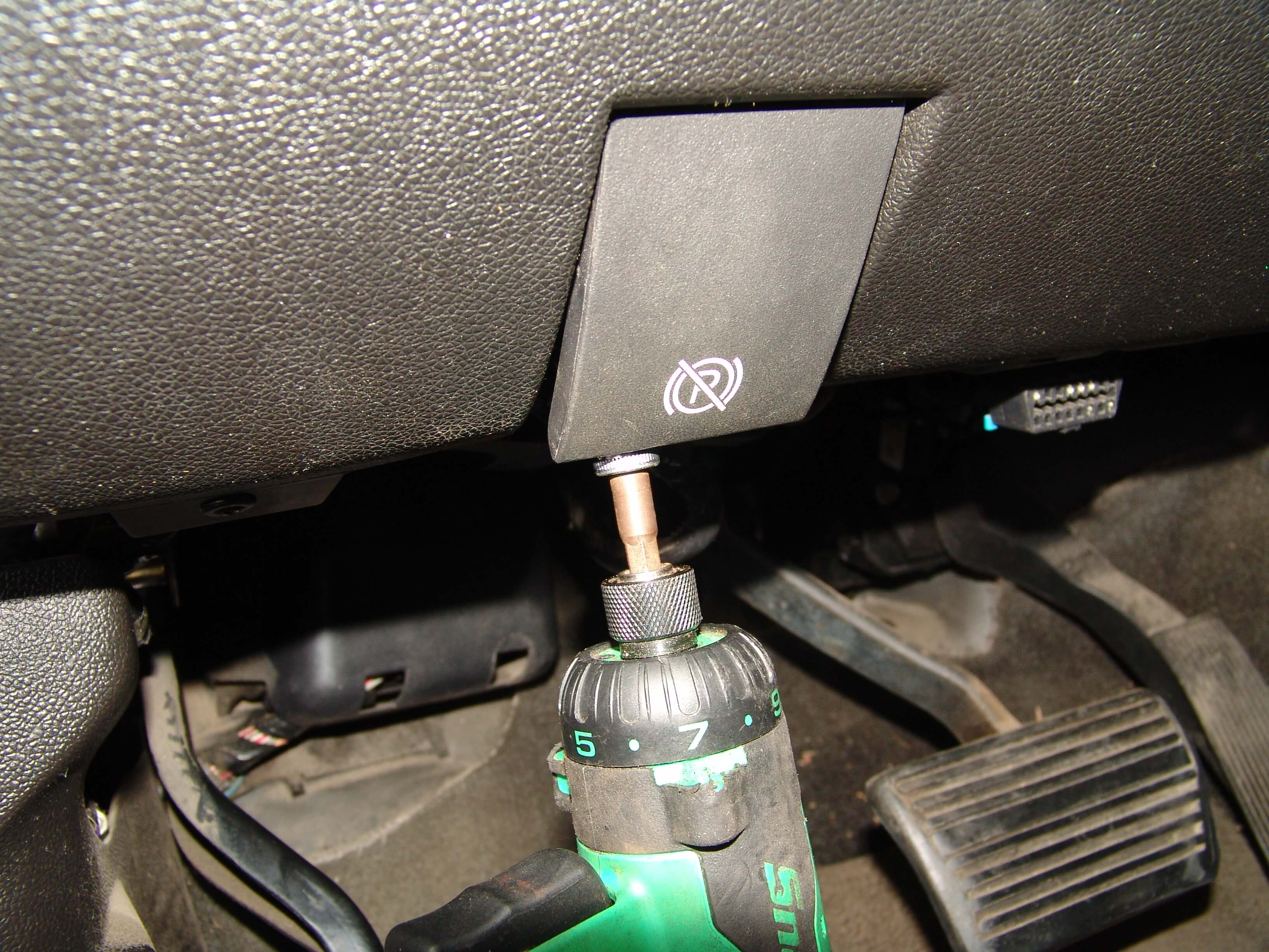 Sparkys Answers 2008 Gmc Sierra Denali Multiple Electrical Problems Fuse Box By Removing The Under Dash Panel On Drivers Side Of Truck There Is A 10 Mm Headed Bolt That Holds Parking Brake Release Handle In Place