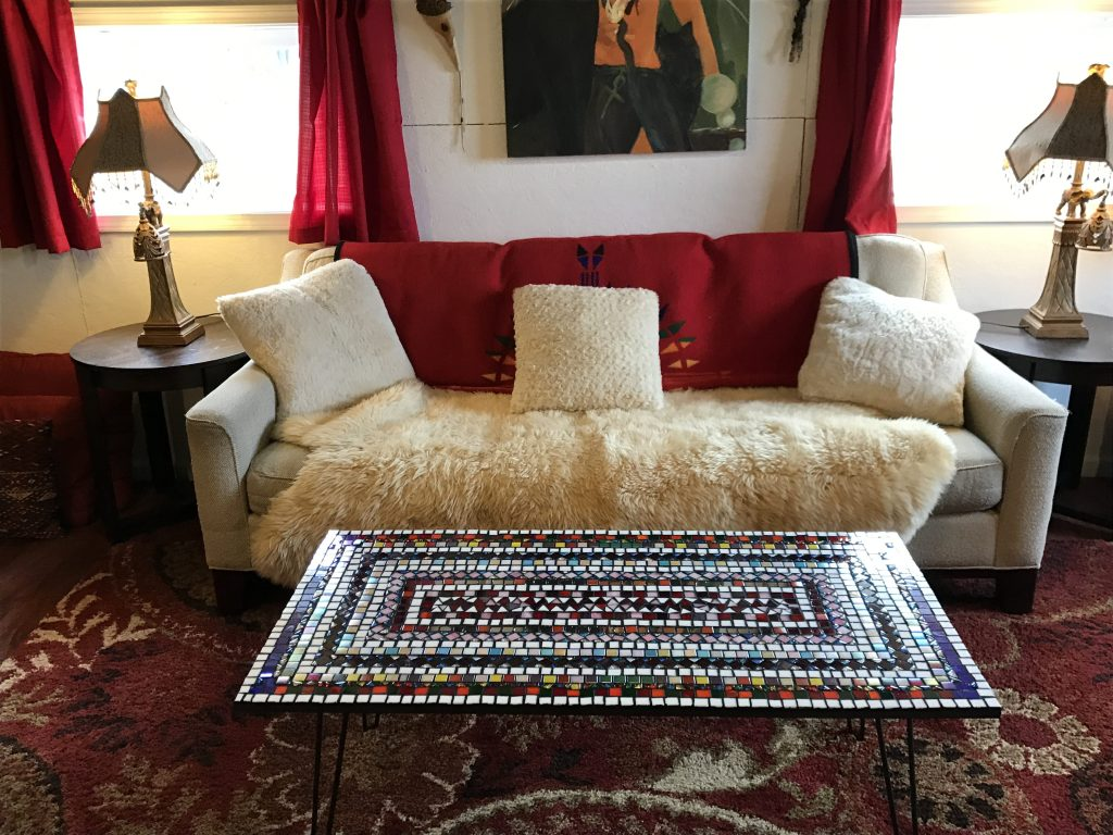 Mosaic Coffee Table 2x4 feet