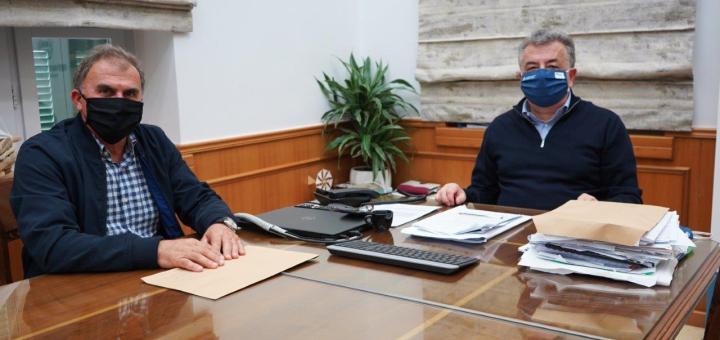 Συνάντηση Περιφερειάρχη Κρήτης με το Δήμαρχο Ιεράπετρας