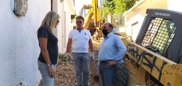 """Ξεκίνησε η ανάπλαση της γραφικής περιοχής """"Καζάρμα"""" στο Δήμο Οροπεδίου Λασιθίου"""