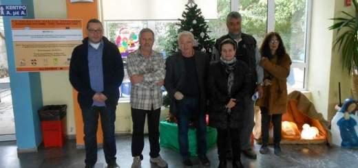 Επίσκεψη Θραψανιώτη στο Θεραπευτήριο και τη Μονάδα Τεχνητού Νεφρού