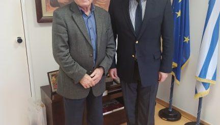 Συνάντηση Θραψανιώτη με τον Υφυπουργό Τουρισμού
