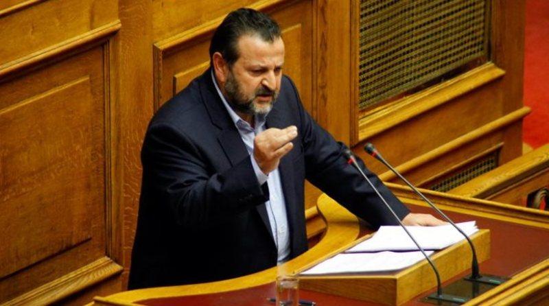 ο βουλευτής Ηρακλείου, Βασίλης Κεγκέρογλου