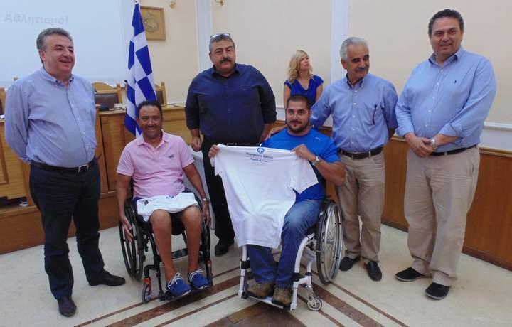 Συγχαρητήρια Περιφερειάρχη Κρήτης για δυο νέα χρυσά του Στεφανουδάκη