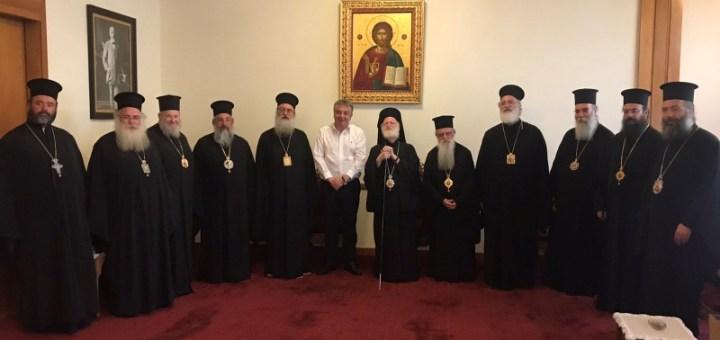 Σύνοδος της Εκκλησίας Κρήτης, θέσεις, συναντήσεις