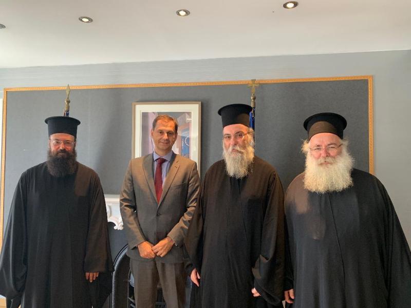 η Εκκλησία Κρήτης στον Υπουργό Τουρισμού