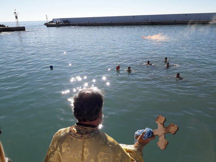 Αγιασμός των υδάτων στον Δήμο Βιάννου
