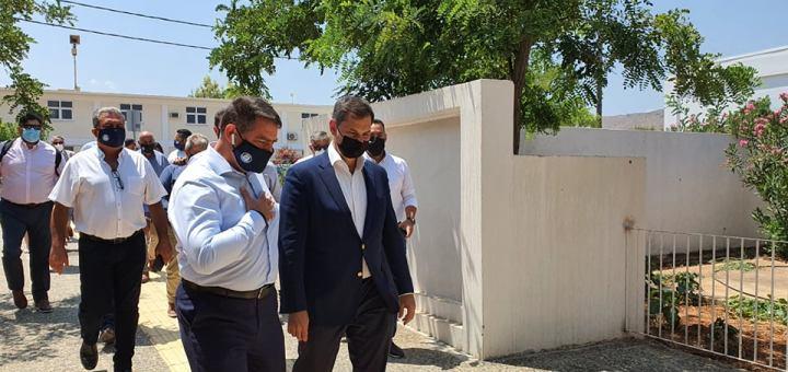 Επίσημη επίσκεψη του Υπουργού Τουρισμού στον δήμο Χερσονήσου