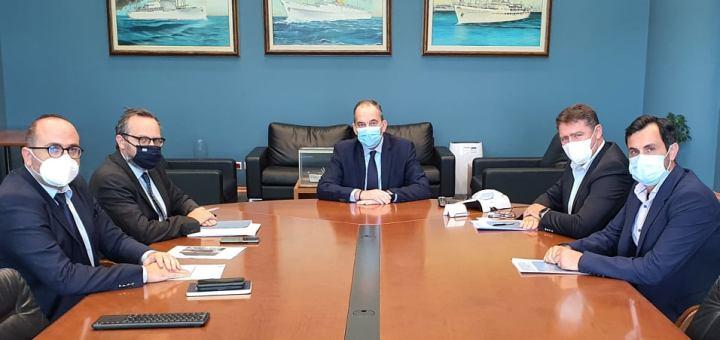 Το αναπτυξιακό πρόγραμμα έργων Λιμενικού ταμείου Χερσονήσου, παρουσιάστηκε στον υπουργό Ναυτιλίας