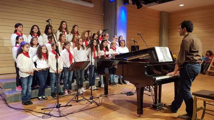 H Παιδική Νεανική Χορωδία Αγίου Νικολάου στη συνάντηση χορωδιών