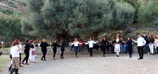 Το Γυμνάσιο Νεάπολης στην Αρχαία Ελιά στο Καβούσι