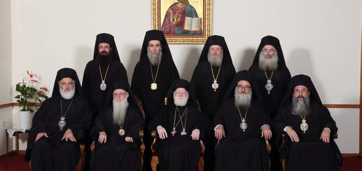 Η Ιερά Σύνοδος για περιστατικά κλοπών και βεβηλώσεων
