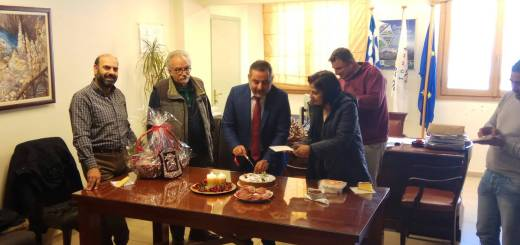 Την Πρωτοχρονιάτικη πίτα έκοψε ο Δήμος Οροπεδίου Λασιθίου