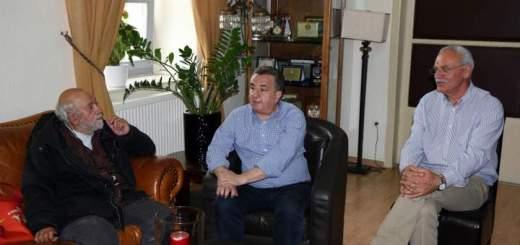 Συνάντηση Αρναουτάκη με Παντελή Βούλγαρη