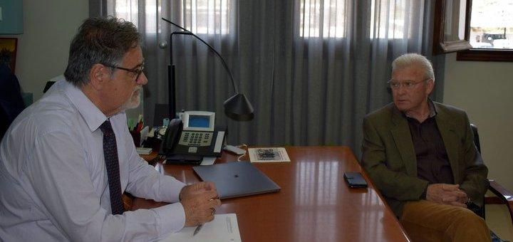 Ζητήματα αιχμής στη συνάντηση Ζερβού - Θραψανιώτη