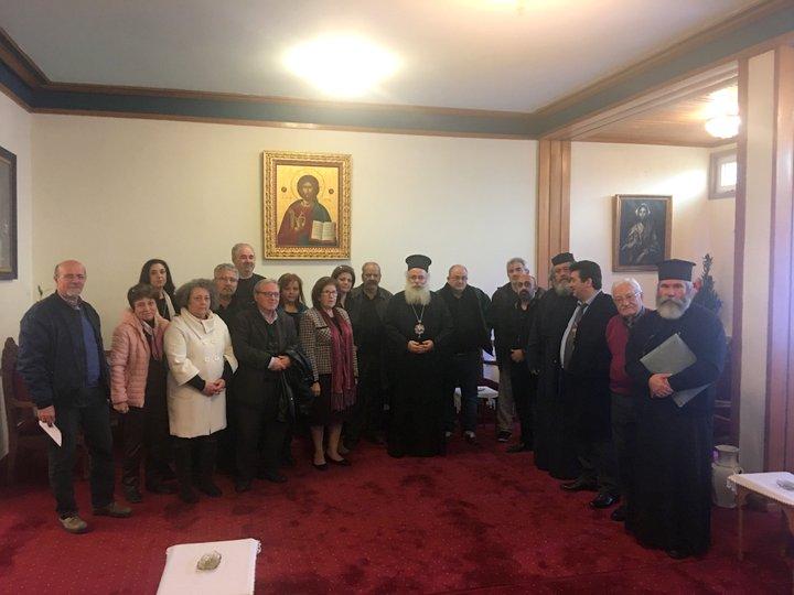 Συνάντηση συλλόγων πολυτέκνων με την Εκκλησία της Κρήτης