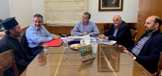Η Περιφέρεια Κρήτης θα στηρίξει την ενεργειακή αναβάθμιση του κτιρίου του Εκκλησιαστικού κέντρου Φροντίδας Ηλικιωμένων στο Οροπέδιο Λασιθίου