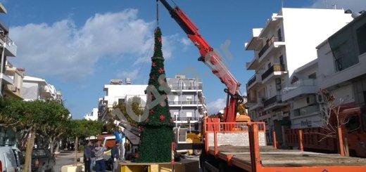 Το Χριστουγεννιάτικο δένδρο της Ιεράπετρας