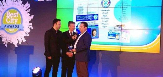 Διπλή βράβευση για τον Δήμο Χερσονήσου στα Best City Awards 2018
