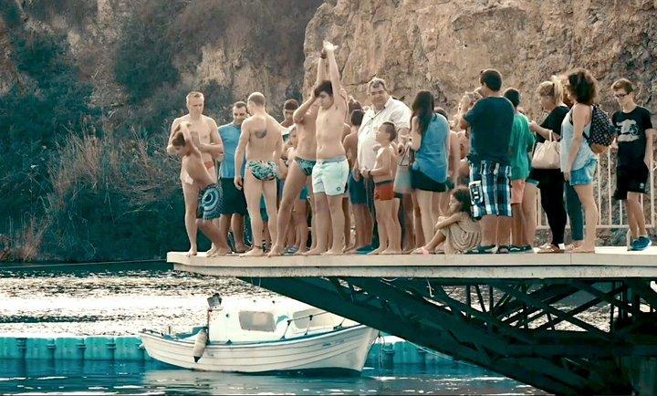 Με καταδύσεις παιδιών ξεκίνησε το προπονητικό μέρος του  Agios Nikolaos cliff diving 2018