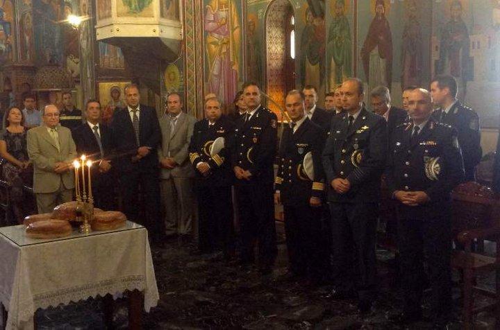 Ημέρα της Αστυνομίας, τιμή στον Άγ. Αρτέμιο