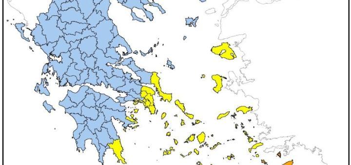 υψηλός κίνδυνος Πυρκαγιάς για το Λασίθι 21-08-2020